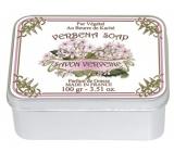 Le Blanc Verveine - Verbena přírodní mýdlo tuhé v krabičce 100 g