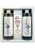 Bohemia Gifts Boho style & Gentleman Extrakt mořské řasy Ulva lactuca Sprchový gel 250 ml + Toaletní mýdlo 145g + Šampon na vlasy 250 ml kosmetická sada