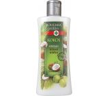 Bohemia Gifts & Cosmetics Kokos tělové mléko s kokosovým olejem a panthenolem 250 ml