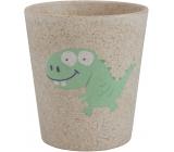 Jack N Jill Dino pohárek z bambusových a rýžových plev 300 ml