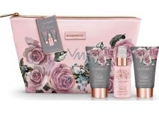 Baylis & Harding Boudoire Sametová růže a Kašmír tělový sprej 100 ml + tělové mléko 50 ml + krém na ruce 50 ml + kabelka, kosmetická sada