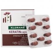 Klorane Keratincaps Síla a vitalita Vlasy a nehty doplněk stravy 30 kapslí