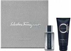 Salvatore Ferragamo Ferragamo toaletní voda pro muže 5 ml, Miniatura + sprchový gel 50 ml, dárková sada