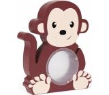 Albi Pokladnička dřevěná zvířátko Opička 22 x 5 x max 22 cm