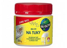 Bio-Enzym Bio-P2 Biologický přípravek k rozkladu tuků v odpadních systémech 500 g