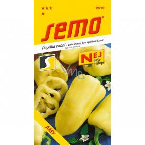 Semo Paprika roční zeleninová, pro rychlení i pole Amy 0,8 g