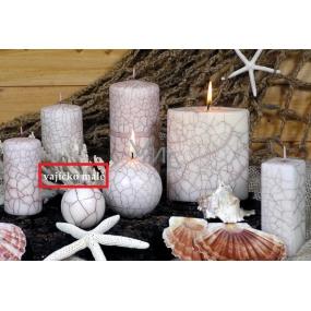 Lima Nevada svíčka bílá vajíčko 7 cm 1 kus