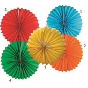 Lampion - 25 cm oranžový