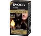 Syoss Oleo Intense Color barva na vlasy bez amoniaku 3-10 Tmavě hnědý