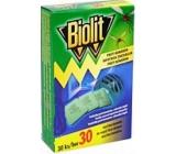 Biolit Polštářky do elektrického odpuzovače komárů náplň 30 kusů