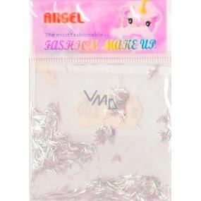 Angel Ozdoby na nehty pásky stříbrné 2 g