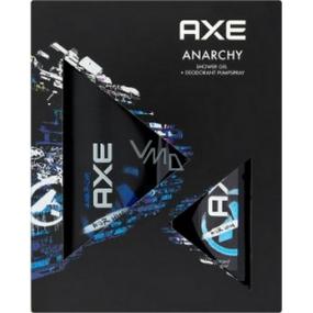 Axe Anarchy sprchový gel 75 ml + parfémovaný deodorat sklo pro muže75 ml, kosmetická sada