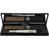 W7 Cosmetics Cover Up Root Camouflage Kit barva na krytí šedivých vlasových kořínků Light Brown 3,5 g