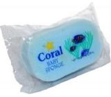 Coral Baby Sponge koupelová houba různé barvy 12,5 x 8 x 3,5 cm