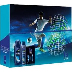 Fa Men Sport sprchový gel pro muže 250 ml + deodorant sprej 150 ml + voda po holení 100 ml, kosmetická sada