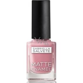 Gabriella Salvete Matte Enamel lak na nehty 105 Rosé 11 ml