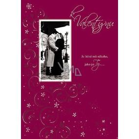 Ditipo Hrací přání k Valentýnu Je štěstí mít někoho melodie 224 x 157 mm