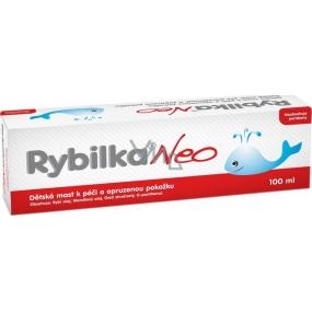 Herbacos Rybilka Neo Dětská mast k péči o pokožku se sklonem k opruzeninám 100 ml