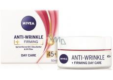 Nivea Anti-Wrinkle + Firming 45+ Zpevňující denní krém proti vráskám 50 ml