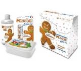 Regina Perníček sprchový gel pro děti 250 ml + jelení lůj 2,3 g + svačinový box, kosmetická sada