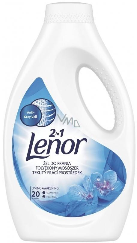 ef2c966420a6 Lenor 2v1 Spring Awakening tekutý prací gel na bílé prádlo