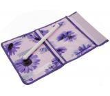Kapsář na zavěšení fialový 43 x 24 cm 4 kapsy 711