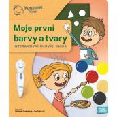 Albi Kouzelné čtení interaktivní mluvící kniha Moje první barvy a tvary, věk 3+