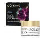 Soraya Black Orchid Černá orchidej + Diamantový prášek krém proti vráskám na den/noc 40+ 50 ml