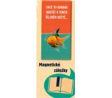 Albi Magnetická záložka do knížky Rybka s žraločí ploutví 8,7 x 4,4 cm