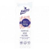 Linteo 100% Natural kosmetické vatové odličovací tampony 100 kusů