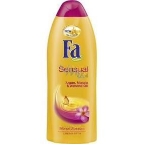 Fa Sensual & Oil Monoi Blossom krémová pěna do koupele 500 ml