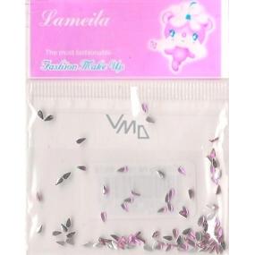 LaMeiLa Ozdoby na nehty kapičky růžové 1 balení