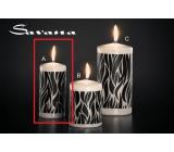 Lima Savana svíčka černá válec 60 x 120 mm 1 kus