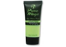 W7 Prime Magic Anti-Redness Primer podkladová báze pod make-up proti zarudnutí 30 ml