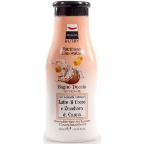 Aquolina Nutry Sugarcane & Coconut sprchový gel 250 ml