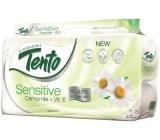 Tento Sensitive Camomile + vitamín E parfémovaný toaletní papír 3vrstvý 8 rolí