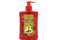 Bohemia Gifts & Cosmetics Hadí jed Tekuté mýdlo se syntetickým hadím jedem 500 ml