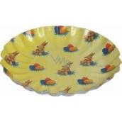 Ditipo Velikonoční papírový talíř Zajíček, vajíčka 21 cm