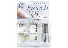 Mavala French Manicure Ice Cube francouzská manikúra lak na nehty 3 x 5 ml