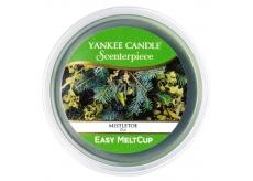 Yankee Candle Mistletoe Meltletoe - Jmelí, Scenterpiece vonný vosk do elektrické aromalampy 61 g