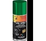 Colorlak Uni univerzální akrylkombinační barva sprej 1999 Černý mat 160 ml