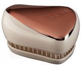 Tangle Teezer Compact Profesionální kompaktní kartáč na vlasy, Rose Gold Ivory - Bronzový