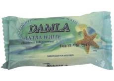 Damla Extra White s hedvábnými proteiny toaletní mýdlo 100 g