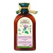 Green Pharmacy Lopuch a Pšeničné protejny kondicionér maska proti vypadávání vlasů 300 ml