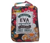 Albi Skládací taška na zip do kabelky se jménem Eva 42 x 41 x 11 cm