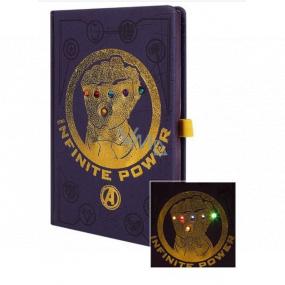 Epee Merch Marvel Avengers - Infinity War Blok A5 14,8 cm x 21 cm premium LED svítící