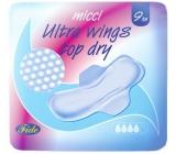 Micci Ultra Wings Top Dry intimní vložky s křidélky 9 kusů