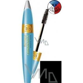 Dermacol Obsesión Volume & Length voděodolná řasenka odstín černá 12 ml