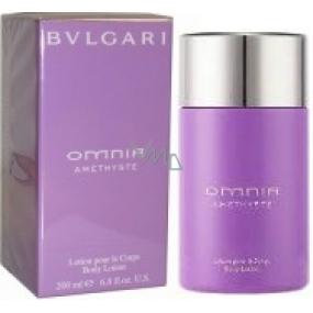 Bvlgari Omnia Amethyste tělové mléko pro ženy 200 ml