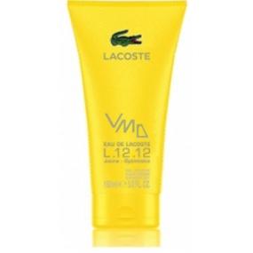 Lacoste Eau de Lacoste L.12.12 Yellow (Jaune) sprchový gel pro muže 150 ml